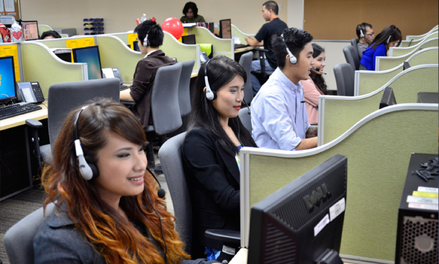 call center training school